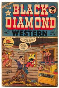 Black Diamond Western #30 1952- Golden Age comic VG-