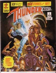 THUNDER Agents   (magazine)  #1 FN