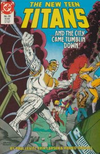 NEW TEEN TITANS #33, VF/NM, Cyborg, DC 1984 1987  more DC in store