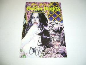 Collected Gothic Nights: A Tale of Scarlet Passion TPB VF- signed by tim vigil
