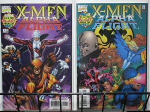 X MEN ALPHA FLIGHT (1998) 1-2 Hydra, Baron Strucker