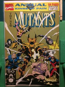 The New Mutants Annual #7 Kings of Pain part 1