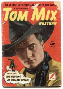 Tom Mix Western #35 1950- Golden Age G