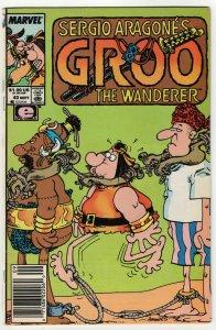 Sergio Aragone's Groo The Wanderer #43 (Marvel, 1988) VG/FN