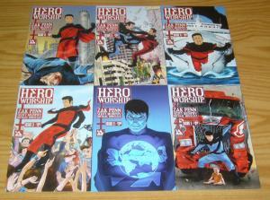 Hero Worship #1-6 VF/NM complete series - zak penn - avatar press comics set lot