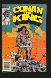 Marvel Comics Conan The King Vol 1 No 33 March 1986
