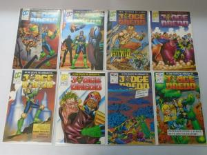 Judge Dredd Quality/Fleetway (1986) Lot 33 Different issues 8.0/VF