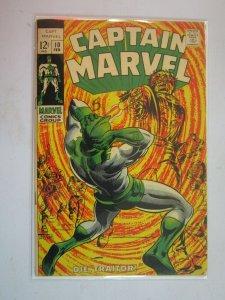 Captain Marvel #10 (1969) GD/VG 3.5