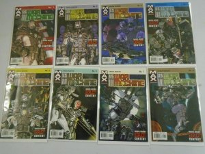 War Machine lot 2 sets 15 different issues 8.0 VF (2001+03)