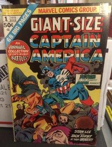 Giant Size Captain America #1 FN