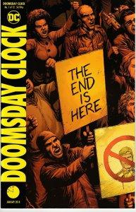 Doomsday Clock # 1 (Variant) DC Universe Meet Watchmen