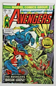 Avengers #143 Bronze Age 1975  Right Between the Eons! Marvel  Fine  Comic