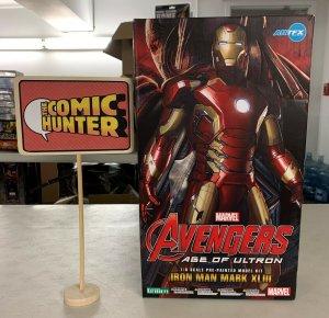 Kotobukiya Artfx Marvel Avengers Iron Man Mark XLIII Pre-Painted Model Kit