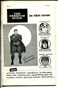 Premium Guide #7 1979-Hy Mandelowitz-Superman-Spider-man-Capt Marvel-VG/FN