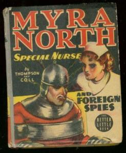 MYRA NORTH SPECIAL NURSE #1497-FOREIGN SPIES-BIG LITTLE FN/VF