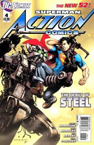 Action Comics (2nd Series) #4 VF/NM; DC | save on shipping - details inside