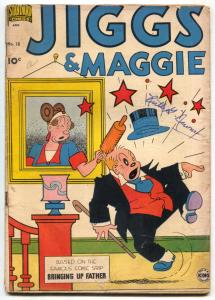 Jiggs and Maggie #18 1951- Bringing Up Father VG
