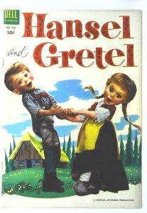 Hansel & Gretel (1954 series) #1, Fine (Actual scan)