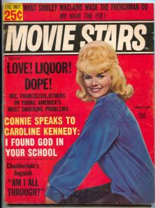 Movie Stars February 1965- Beatles- Connie Stevens cover