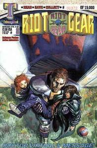 Riot Gear #8 VF/NM; Triumphant | save on shipping - details inside