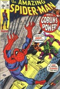 Amazing Spider-Man #98 (ungraded) stock photo ID# B-10
