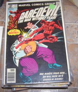 DAREDEVIL  # 171 marvel 1981 1st  kingpin vs daredevil + FRANK MILLER