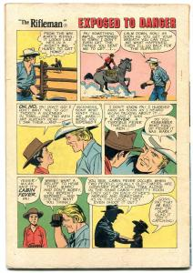 Rifleman #5 1960- Chuck Connors Dell Western VG