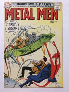 Metal Men 3 8.0 VF Very Fine