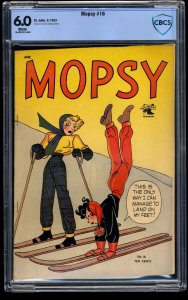 Mopsy #16 CBCS FN 6.0 White Pages