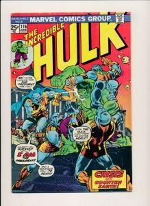 The INCREDIBLE HULK #176 Marvel Comics 1974 FINE- (PF407)