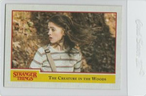 Stranger Things The Creature In The Woods 45 Topps Netflix 2018 Season One card