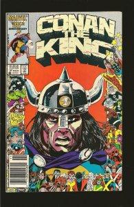 Marvel Comics Conan The King Vol 1 No 37 November 1986