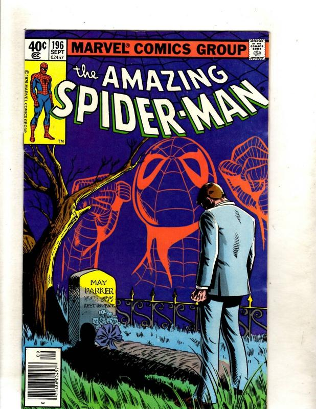 Amazing Spider-Man # 196 VF Marvel Comic Book Goblin Aunt May Mary Jane JF11