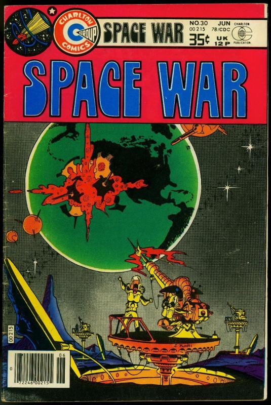 Space War #30 1978- Charlton Comics- FN