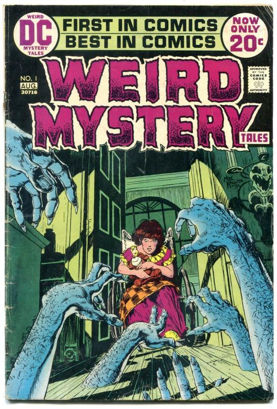 Weird Mystery Tales #1 1972-Wrightson- Kirby- DC Horror VG
