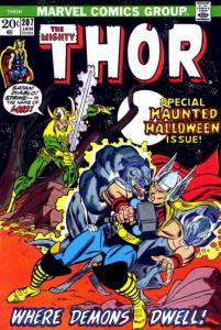 Thor #207 FN; Marvel | save on shipping - details inside