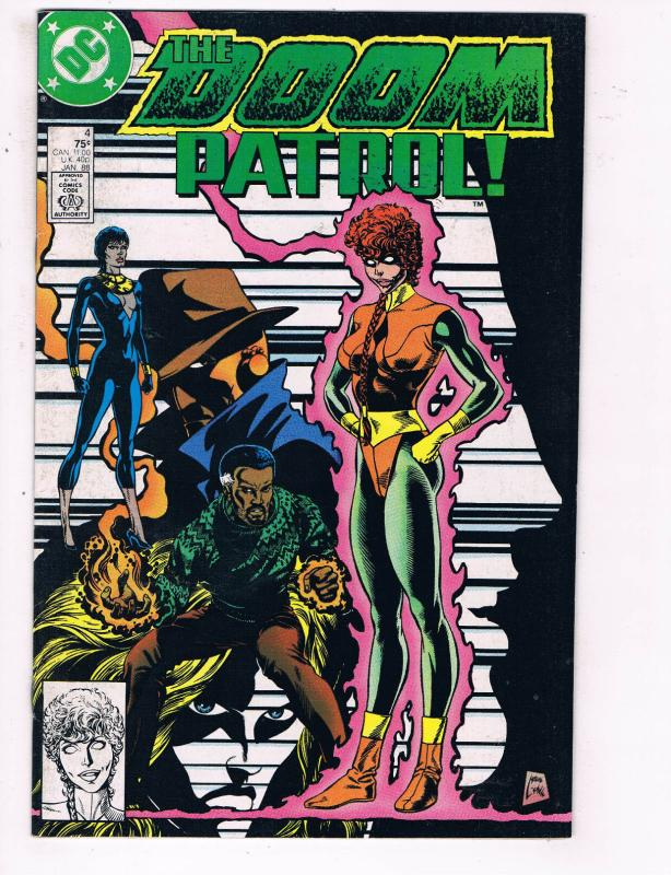 The Doom Patrol 4 Vf Dc Comics Comic Book Jan 1988 De23 Hipcomic
