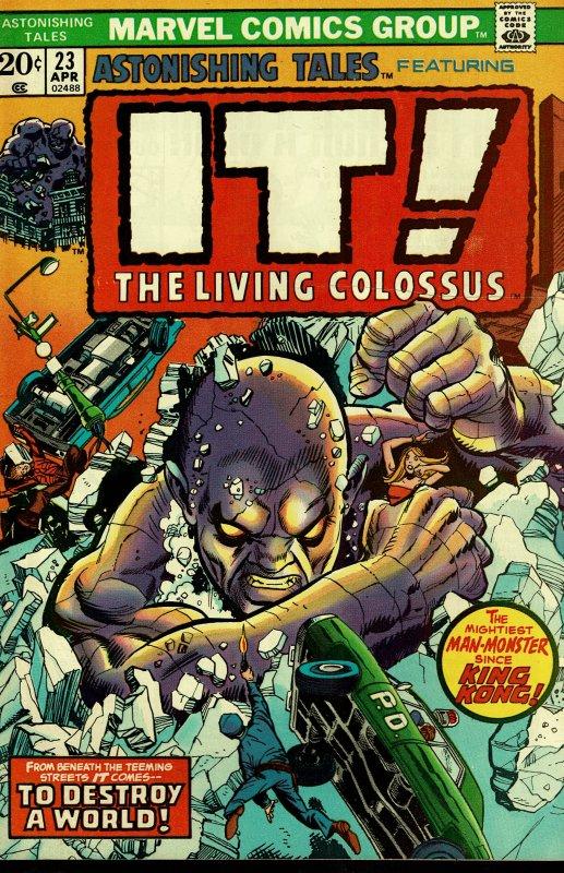 Astonishing Tales #23 - VERY FINE - Gil Kane Pencils