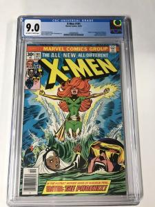 Uncanny X-men 101 Cgc 9.0 Ow/w Pages 1st First Phoenix Marvel Bronze Age