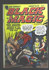Black Magic Magazine #20, VG+ (Actual scan)