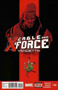 CABLE AND X-FORCE NOW (2012 MARVEL) #19