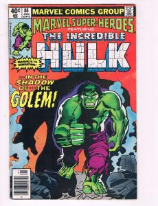 Marvel Superheroes Feat. The Incredible Hulk #86 VF Marvel Comics Group DE7