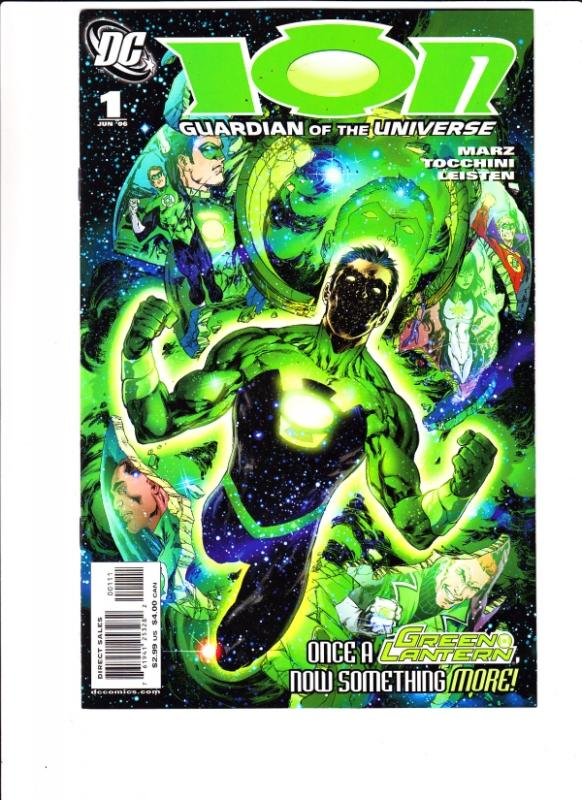 Green Lantern Ion Set #1to51 (6-Jun) NM+ Super-High-Grade Green Lantern Corp,...