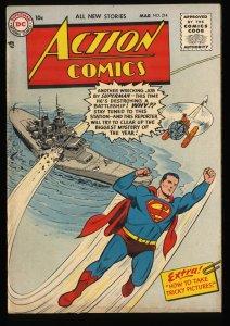 Action Comics #214 FN 6.0 Superman DC Comics DC Superman