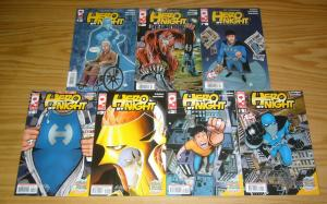Hero By Night #1-4 VF/NM complete series + vol. 2 #1-3 dj coffman platinum comic