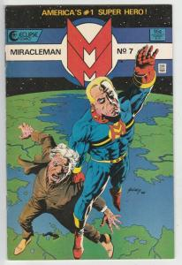 Miracleman #7 (Apr-86) VF+ High-Grade Miracle Man