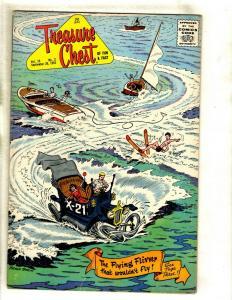 12 Treasure Chest of Fun and Fact Pflaum Comics Vol. 19 2 3 4 5 6 8 9 10 + JL34