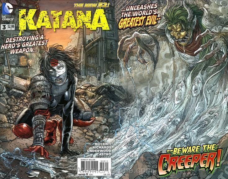 Katana #3 VF/NM; DC | save on shipping - details inside
