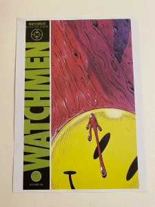 Watchmen #1 DC Comics poster by Dave Gibbons