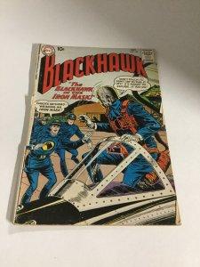Blackhawk 153 Gd- Good- 1.8  Hole Punched Back Cover Missing Chunk DC Comics SA